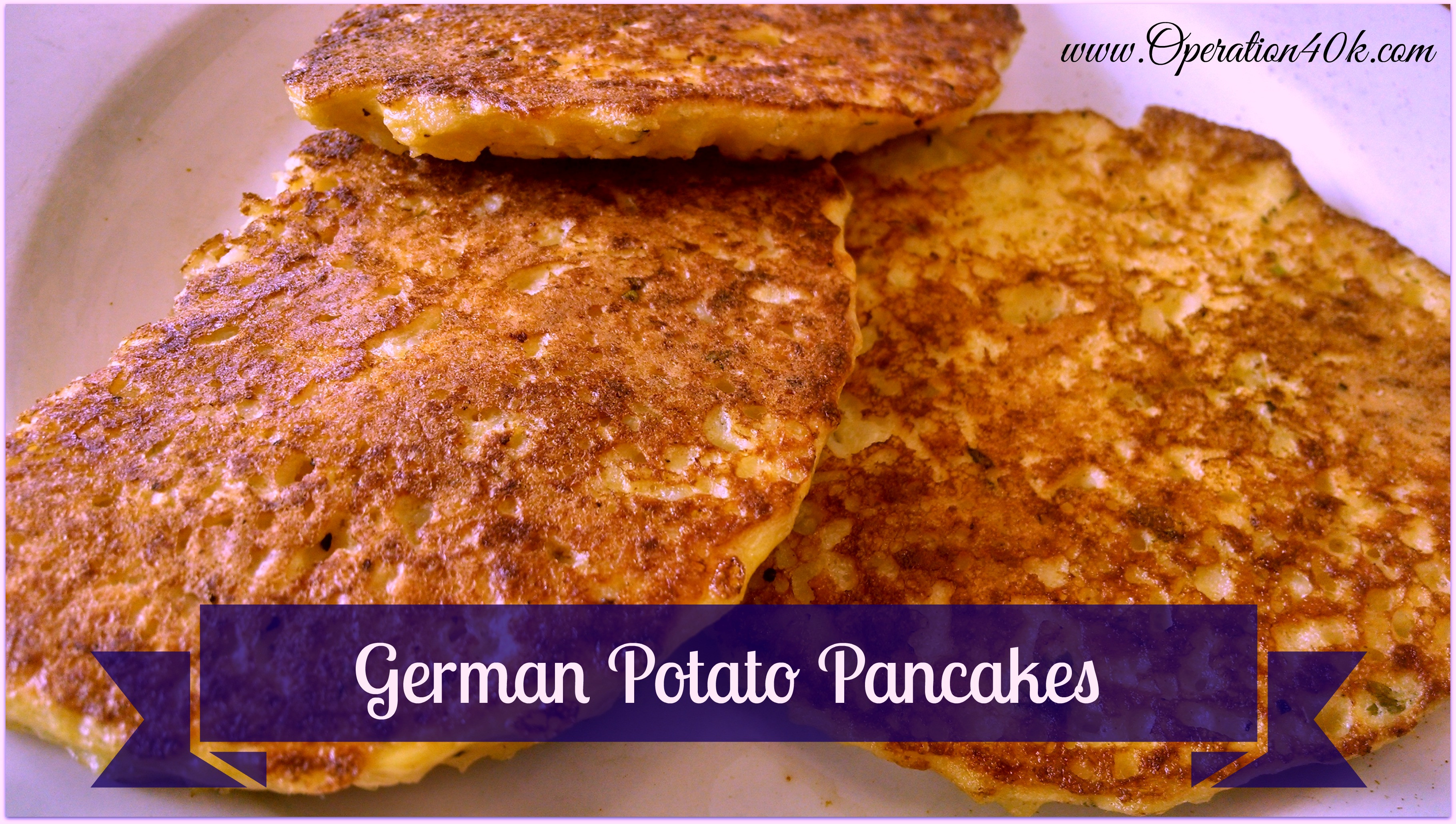 German Potato Pancakes  recipes Archives Page 12 of 43 Operation $40K