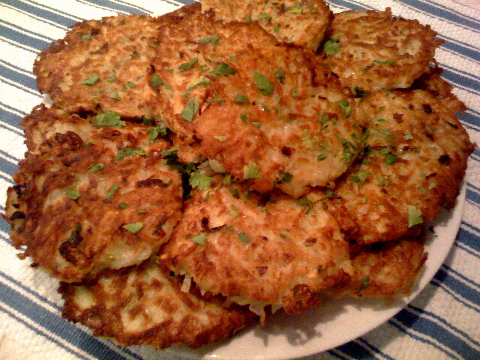 German Potato Pancakes  Potato Pancakes German Style