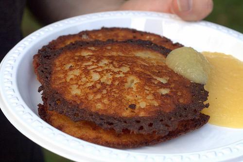 German Potato Pancakes  YummyLocal