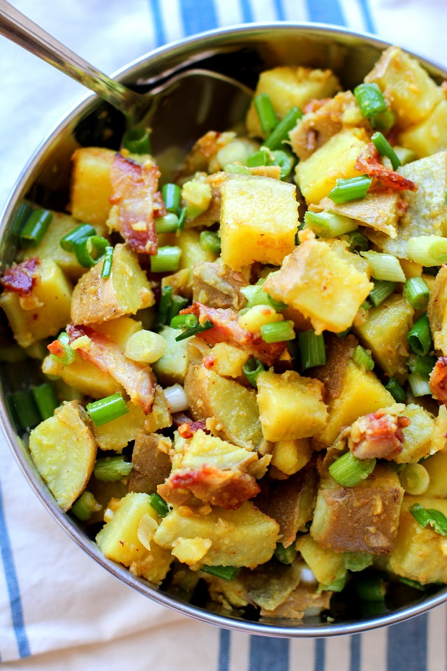 German Potato Salad Apple Cider Vinegar  German Style Sweet Potato Salad The Roasted Root