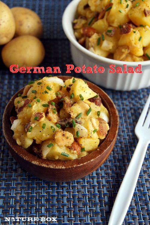 German Potato Salad Apple Cider Vinegar  German Potato Salad — NatureBox Blog