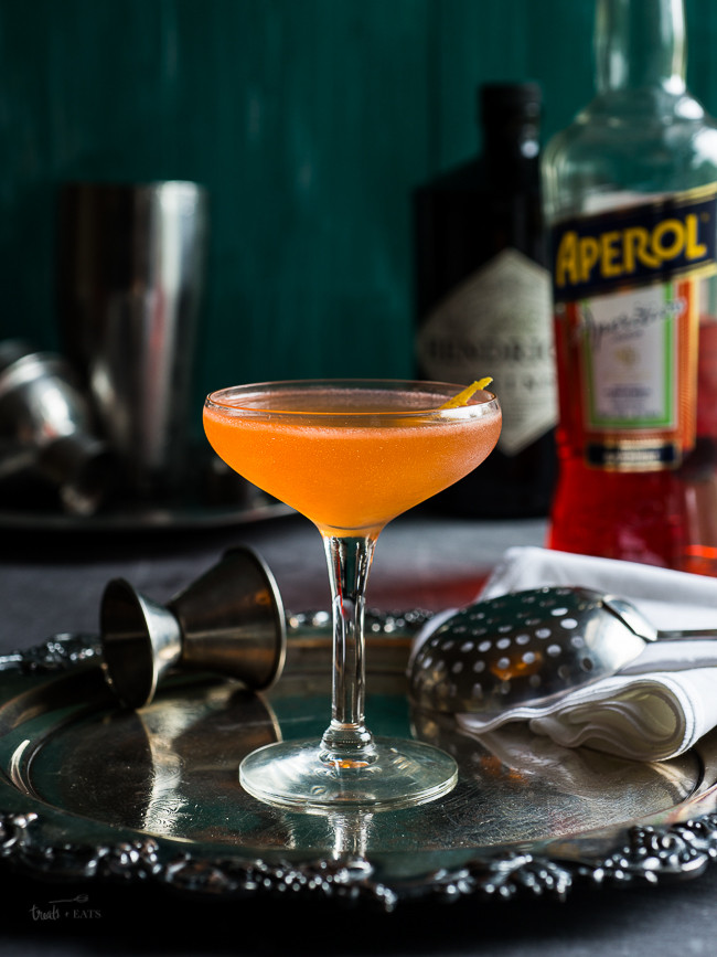 Gin Drinks Easy  Aperol and Gin Cocktail Treats and Eats