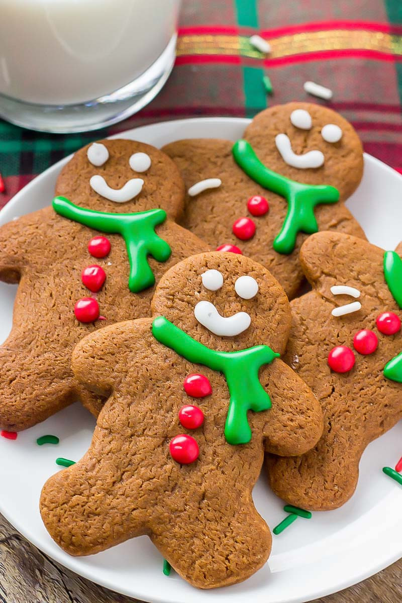 Gingerbread Cookies Recipe  Homemade Gingerbread Cookies Soft Yet Crispy