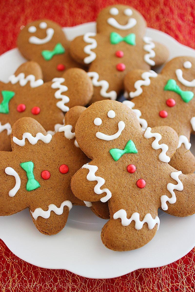 Gingerbread Cookies Recipe  Spiced Gingerbread Man Cookies