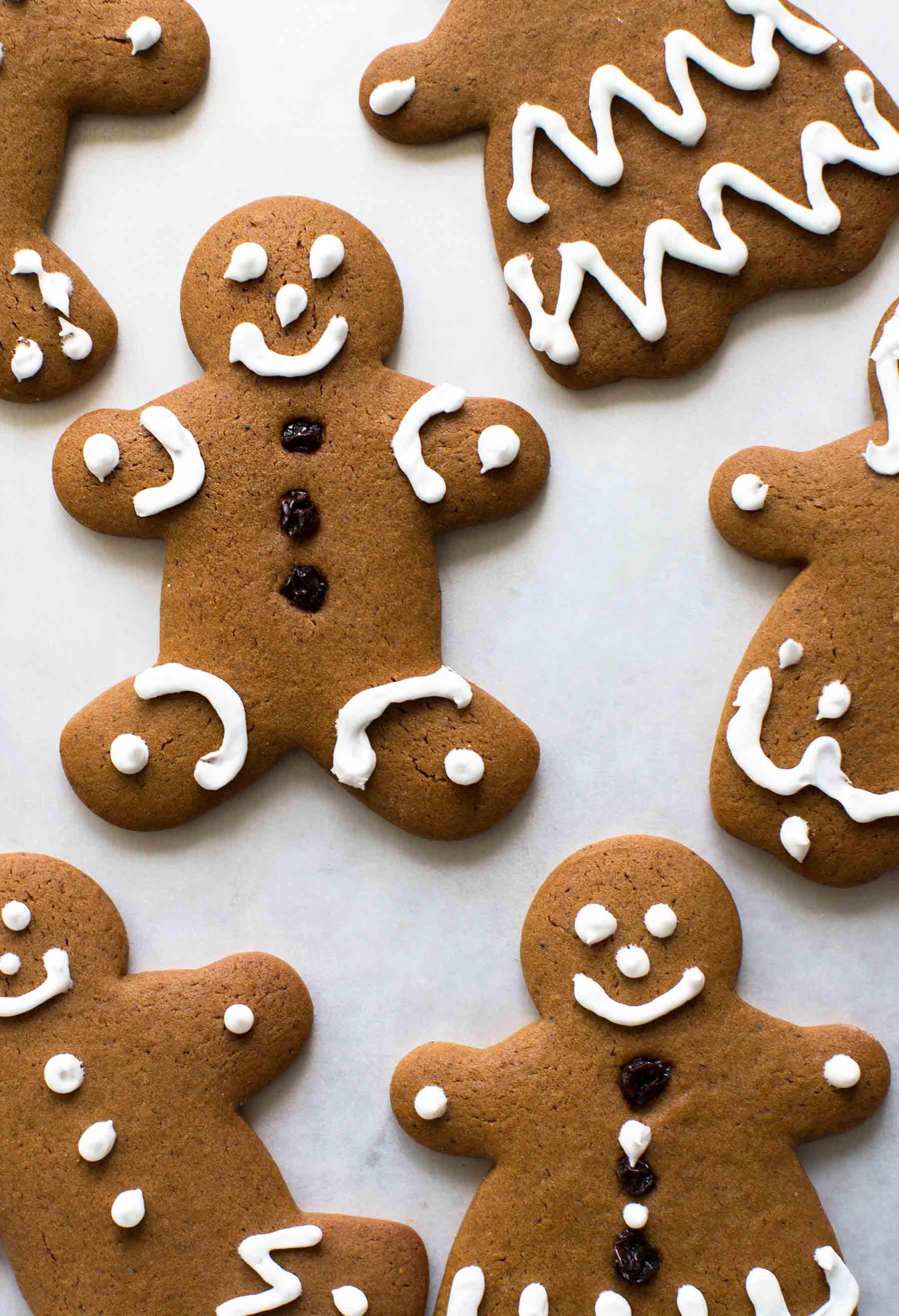 Gingerbread Cookies Recipe  Gingerbread Man Cookies Recipe