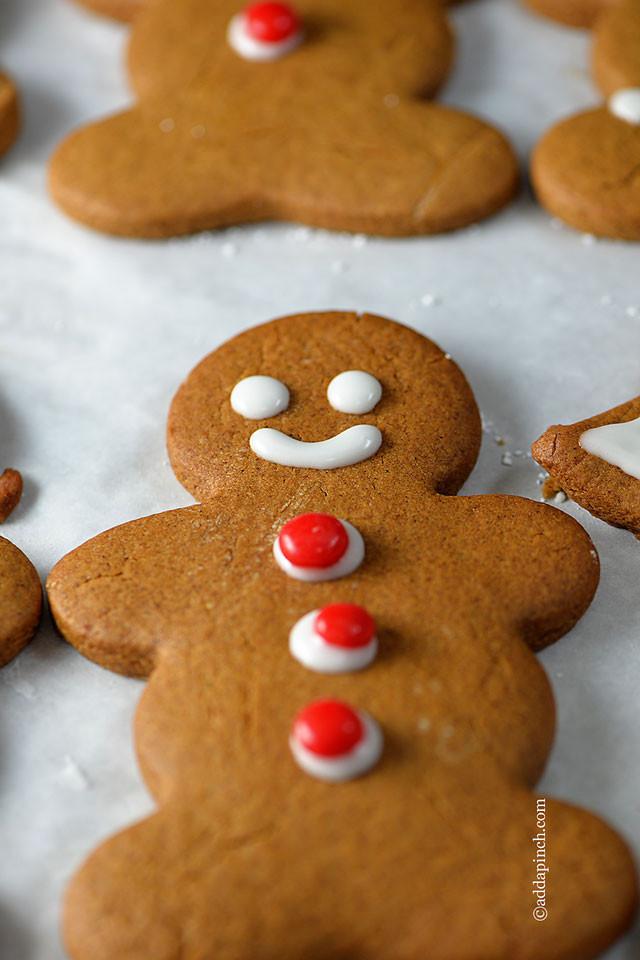 Gingerbread Cookies Recipe  Make Ahead Favorite Christmas Cookies Add a Pinch