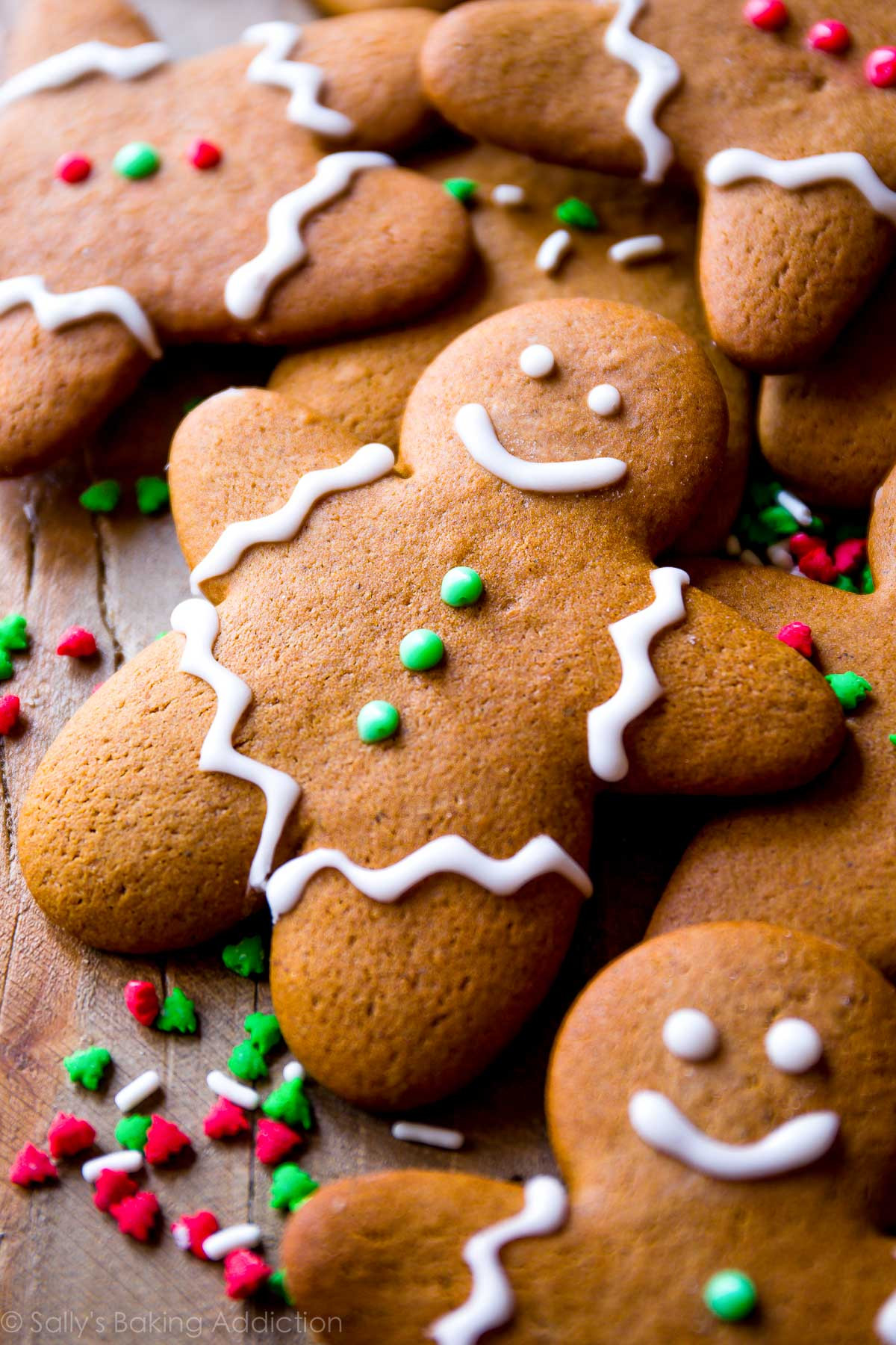 Gingerbread Cookies Recipe  My Favorite Gingerbread Men Recipe Sallys Baking Addiction