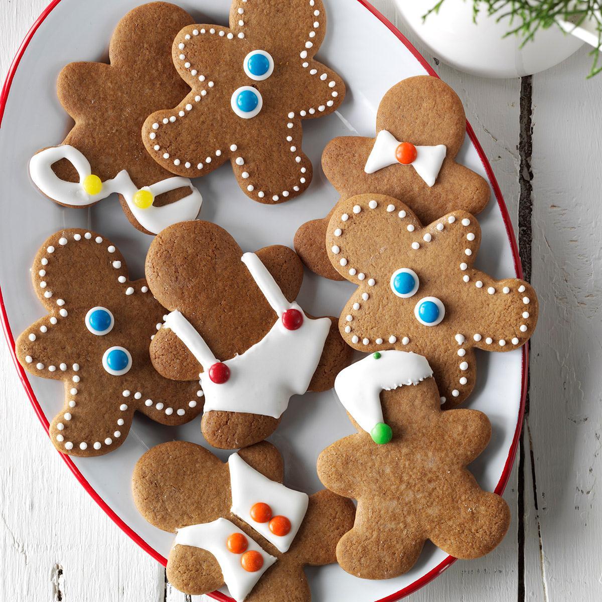 Gingerbread Cookies Recipe  Gingerbread Men Cookies Recipe