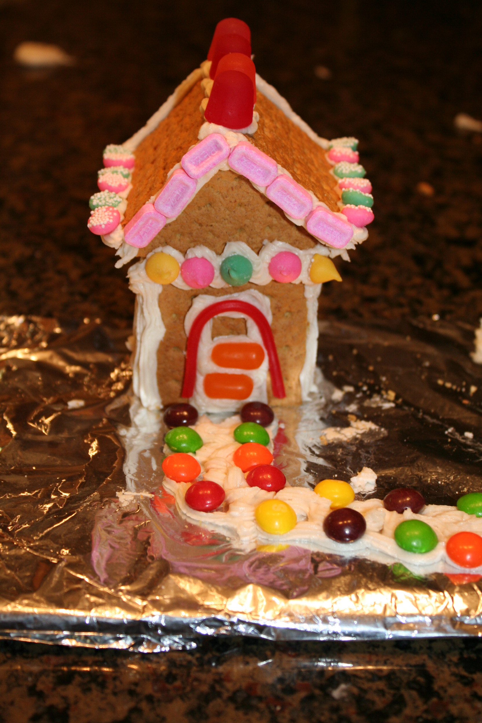 Gingerbread House With Graham Crackers  Holiday DIY Graham Cracker Gingerbread House Mommysavers