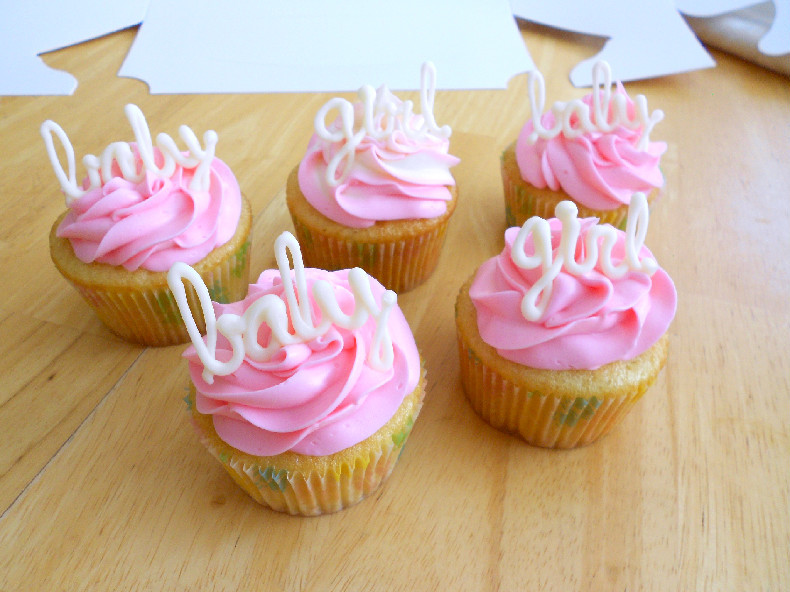 Girl Baby Shower Cupcakes  Baby Girl Shower Cupcakes Confessions of a Confectionista