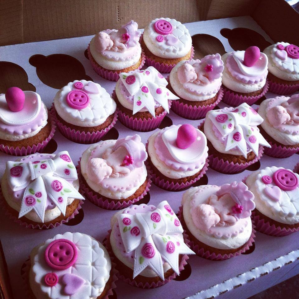 Girl Baby Shower Cupcakes  Baby Shower Cakes Baby Shower Cupcakes Liverpool