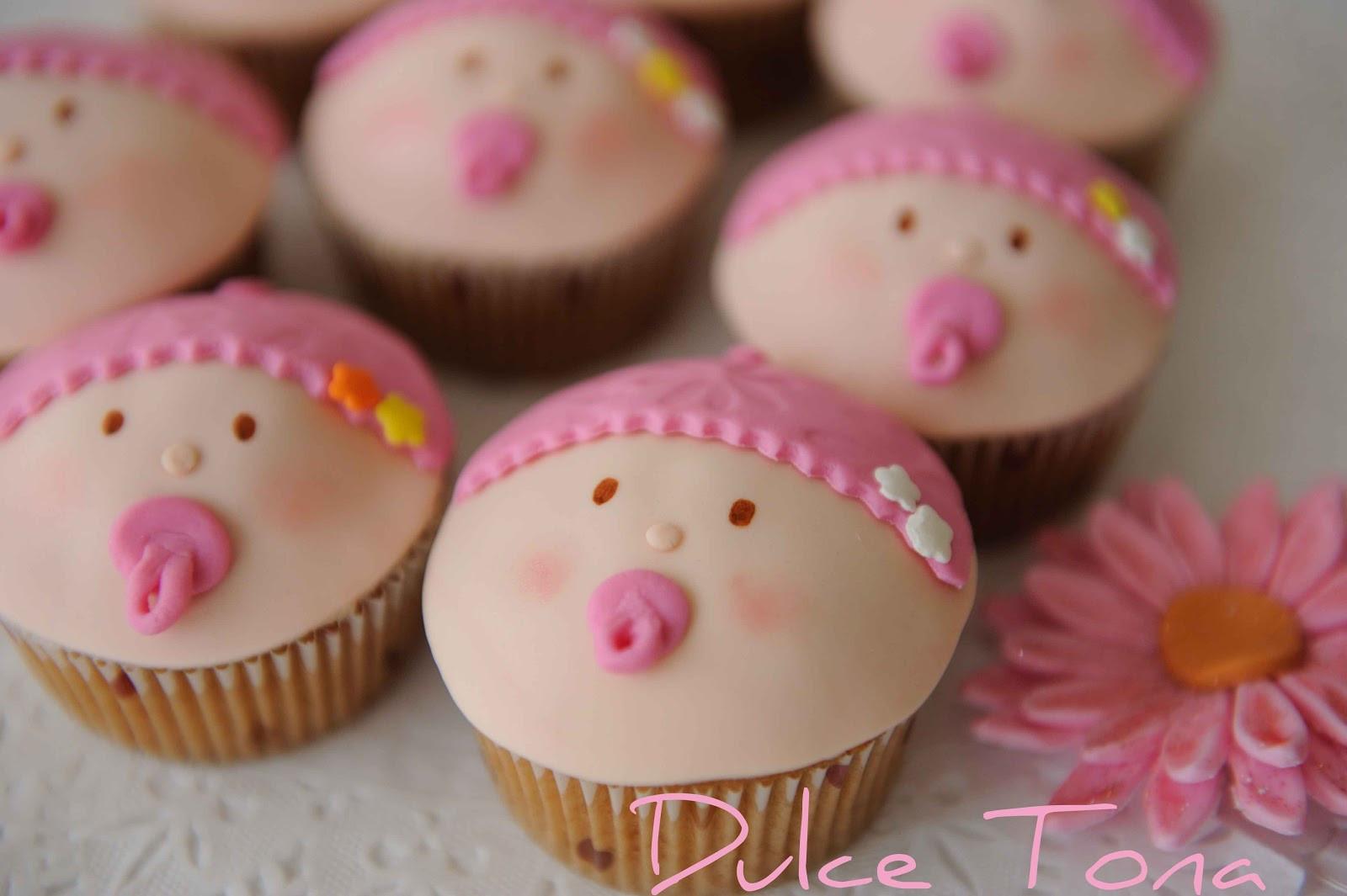 Girl Baby Shower Cupcakes  Dulce Tona Baby Shower