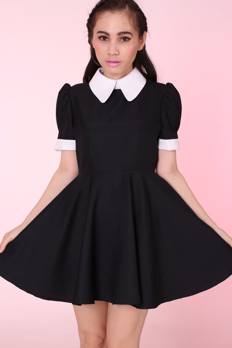 Glitters For Dinner  Glitters For Dinner — Made To Order Gothic Alice Dress