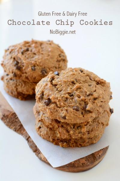 Gluten And Dairy Free Desserts To Buy  Gluten Free and Dairy Free Oatmeal Chocolate Chip Cookies
