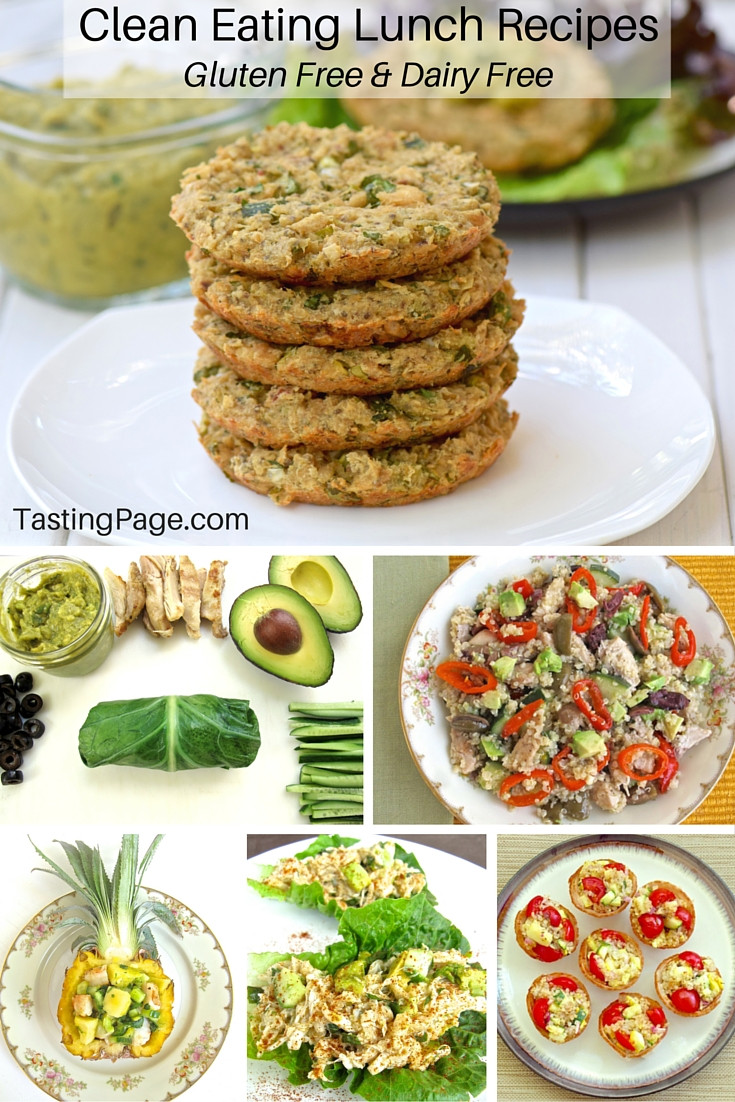 Gluten Free And Dairy Free Recipes  Clean Eating Lunch Recipes Gluten Free & Dairy Free
