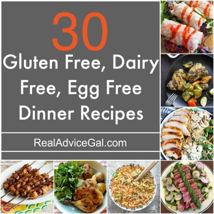 Gluten Free And Dairy Free Recipes  Gluten Free Dairy Free Egg Free Recipes Madame Deals