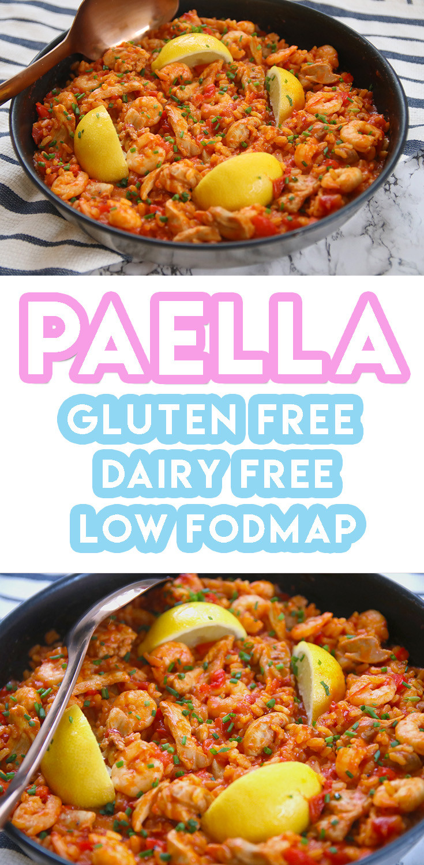 Gluten Free And Dairy Free Recipes  My Gluten Free Paella Recipe low FODMAP dairy free
