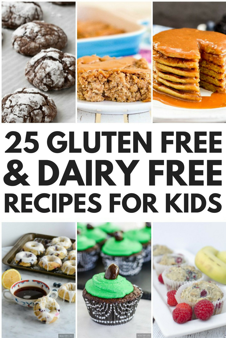 Gluten Free And Dairy Free Recipes  24 Simple Gluten Free and Dairy Free Recipes for Kids