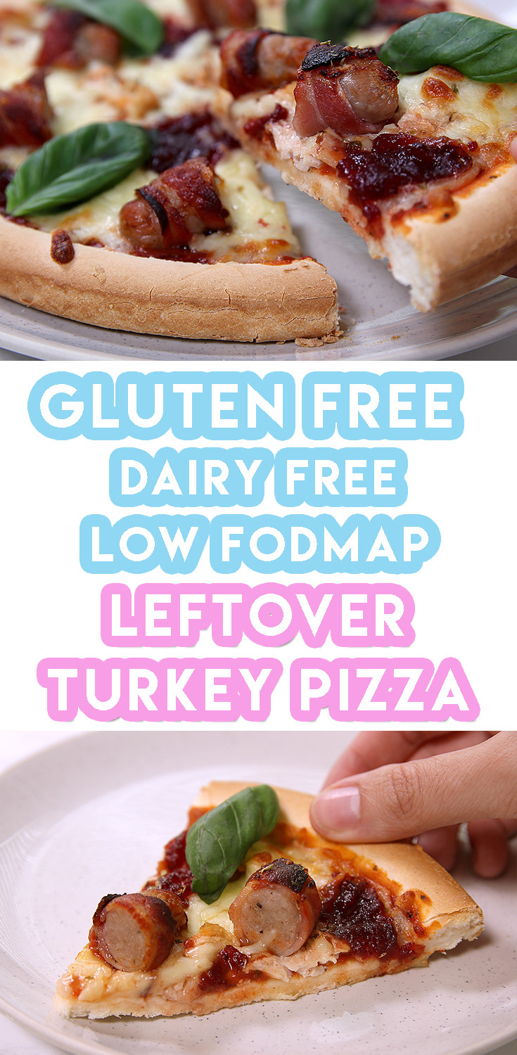 Gluten Free And Dairy Free Recipes  My Leftover Turkey Gluten Free Christmas Pizza Recipe