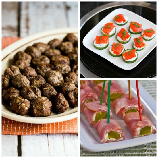 Gluten Free Appetizer Recipes  Kalyn s Kitchen 50 Deliciously Healthy Low Carb and