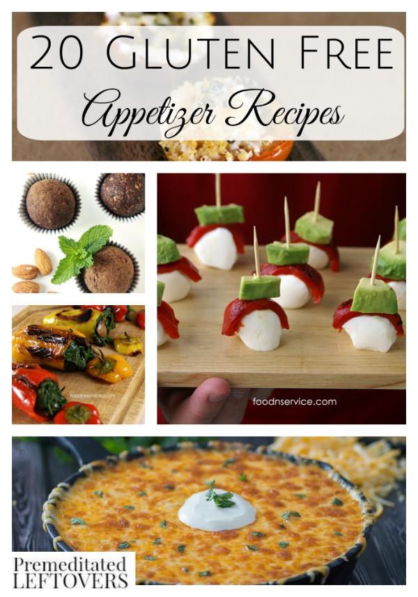 Gluten Free Appetizer Recipes  20 Gluten Free Appetizer Recipes