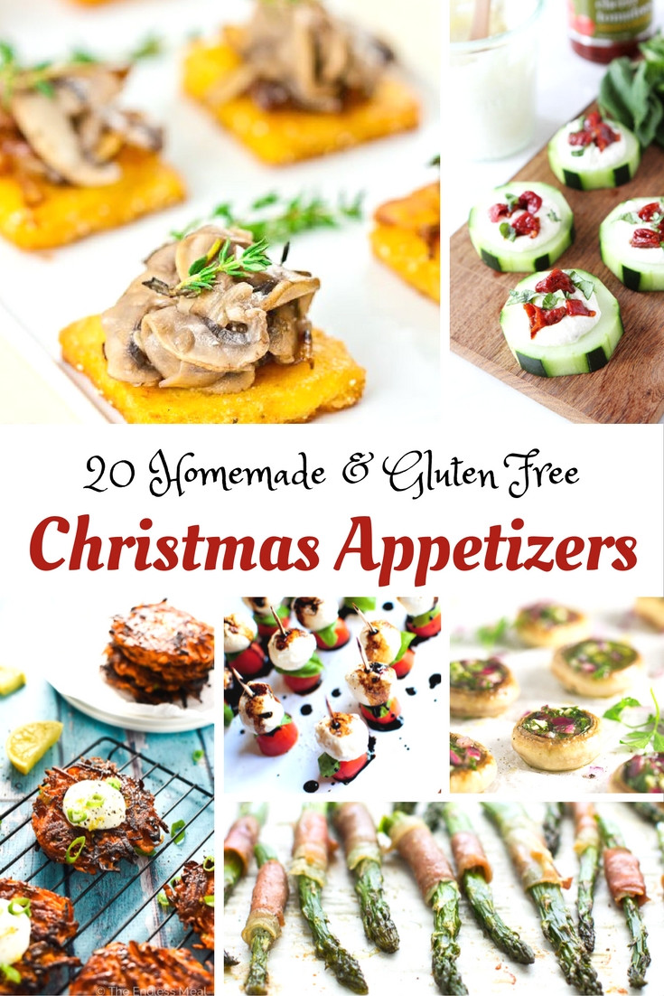 Gluten Free Appetizer Recipes  Here are a Few Gluten Free Christmas Appetizer Ideas to