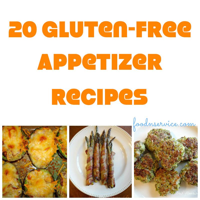 Gluten Free Appetizer Recipes  20 Amazing Gluten Free Appetizer Recipes