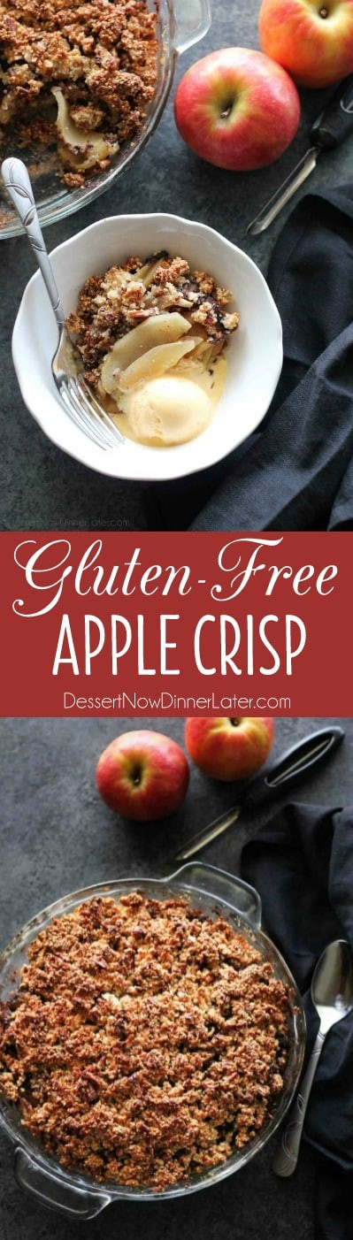Gluten Free Apple Desserts  Gluten Free Apple Crisp Dessert Now Dinner Later
