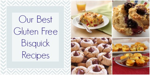 Gluten Free Bisquick Recipes  8 of our Best Gluten Free Bisquick Recipes