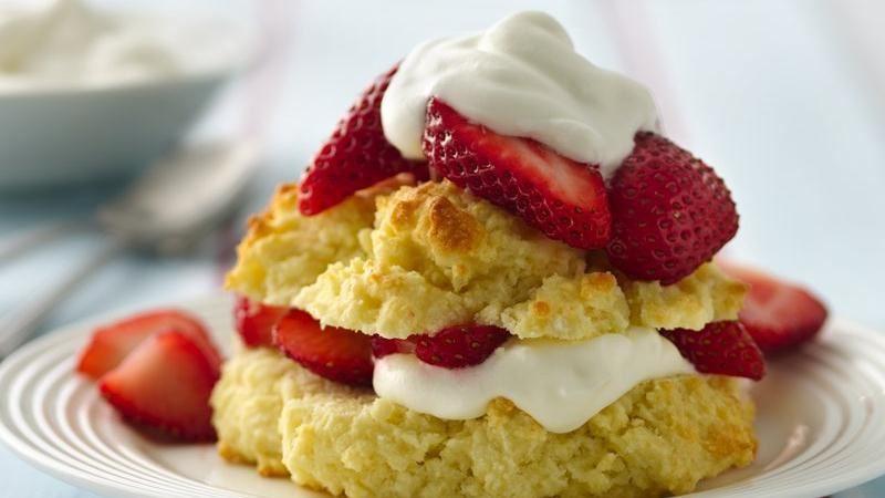 Gluten Free Bisquick Recipes  Gluten Free Strawberry Shortcakes recipe from Betty Crocker