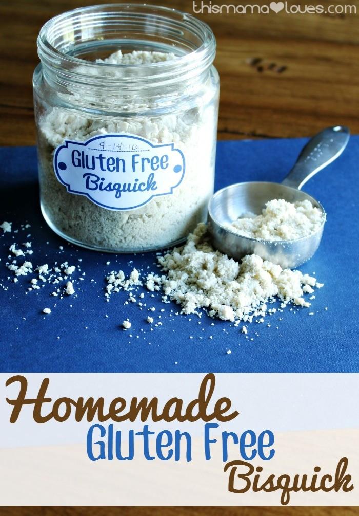 Gluten Free Bisquick Recipes  Homemade Gluten Free Bisquick Recipe