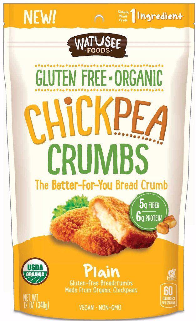 Gluten Free Bread Crumbs  Protein Rich Chickpea Crumbs gluten free breadcrumbs