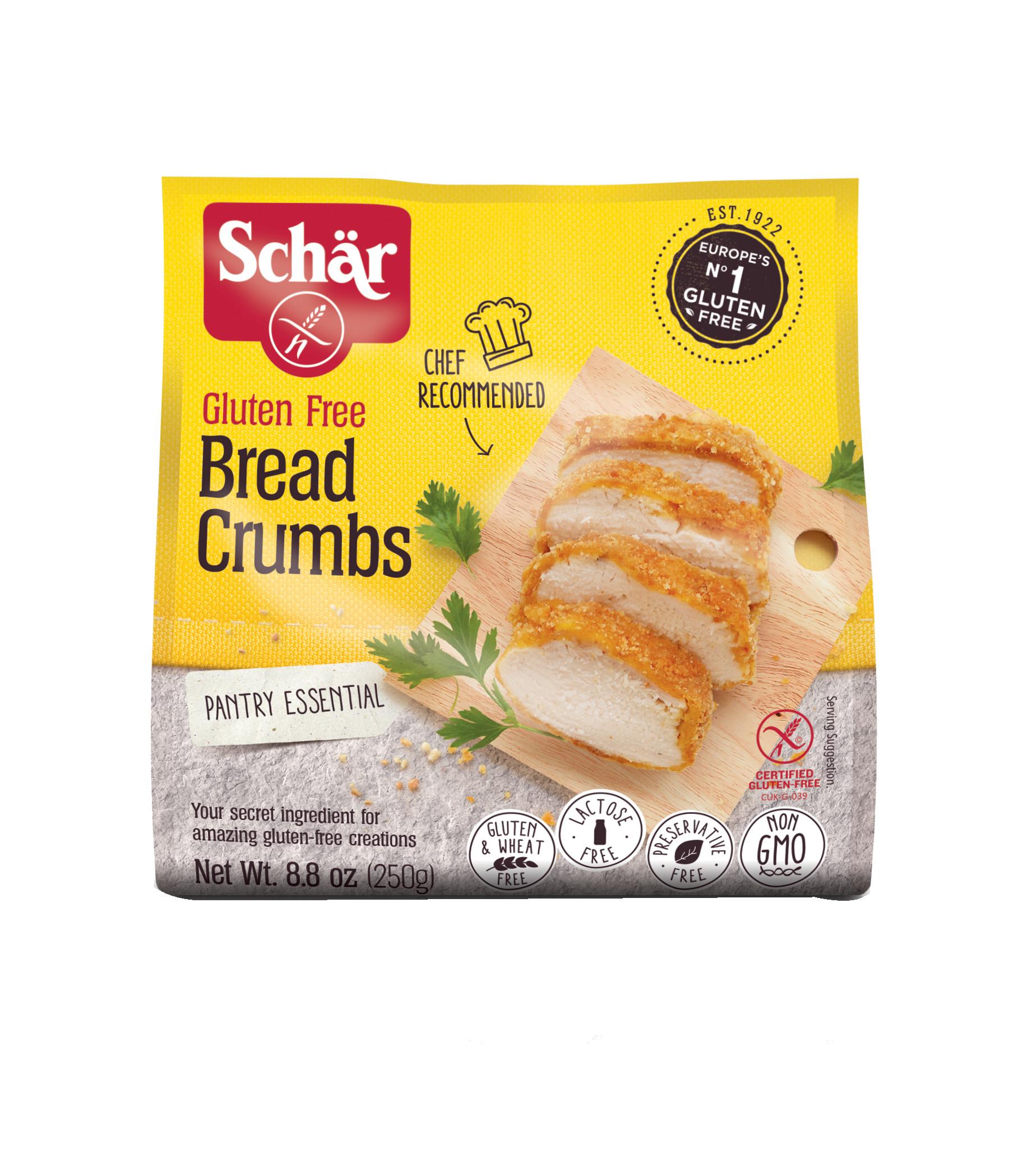 Gluten Free Bread Crumbs  Schar s Breadcrumbs