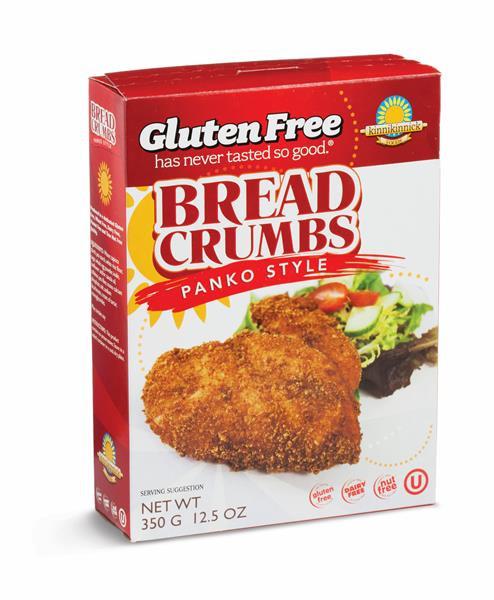 Gluten Free Bread Crumbs  Kinnikinnick Gluten Free Panko Style Bread Crumbs