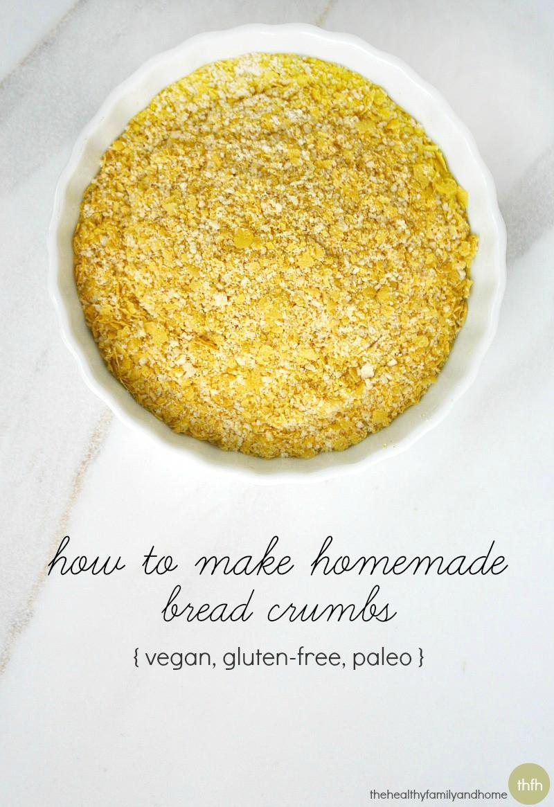 Gluten Free Bread Crumbs  How to Make Gluten Free Bread Crumbs