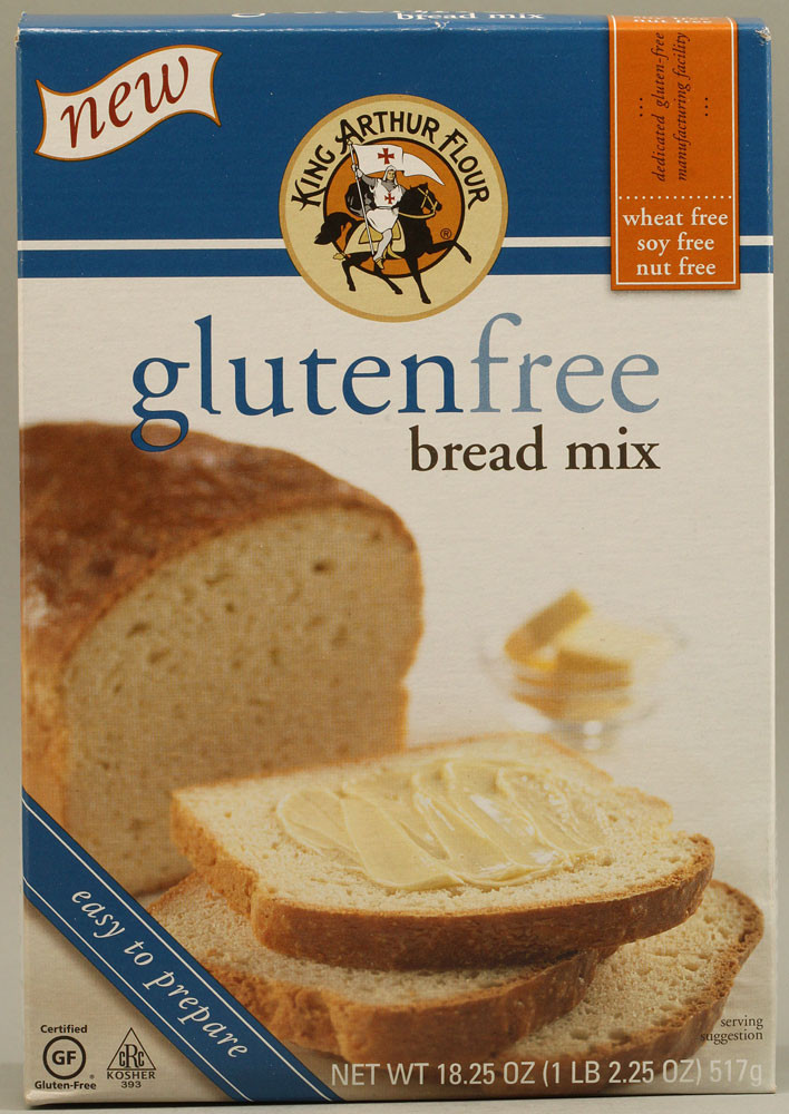 Gluten Free Bread Flour  king arthur gluten free bread mix