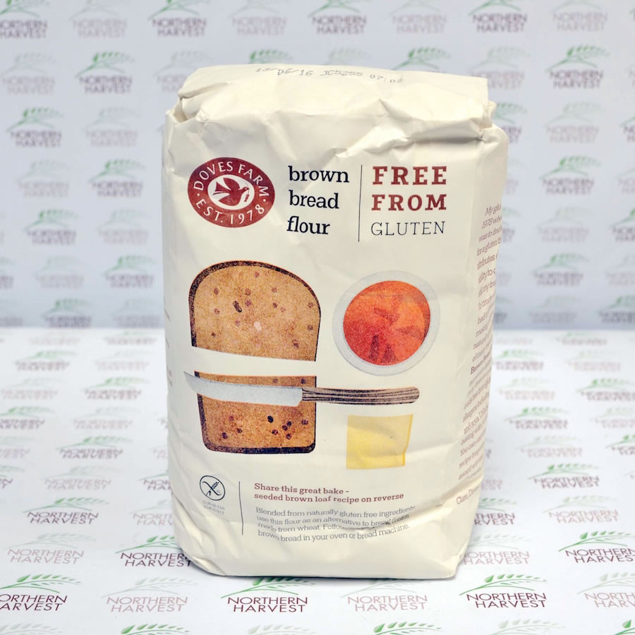 Gluten Free Bread Flour  Gluten Free Brown Bread Flour