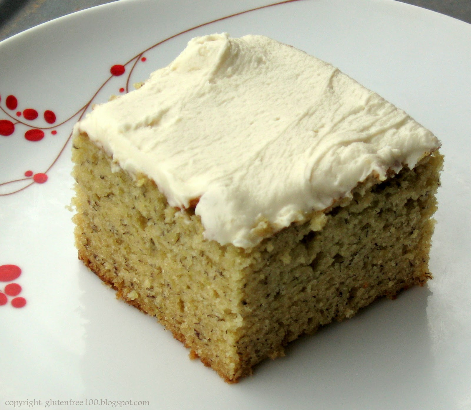 Gluten Free Cake Recipes  Gluten Free Banana Cake with Browned Butter Frosting Recipe
