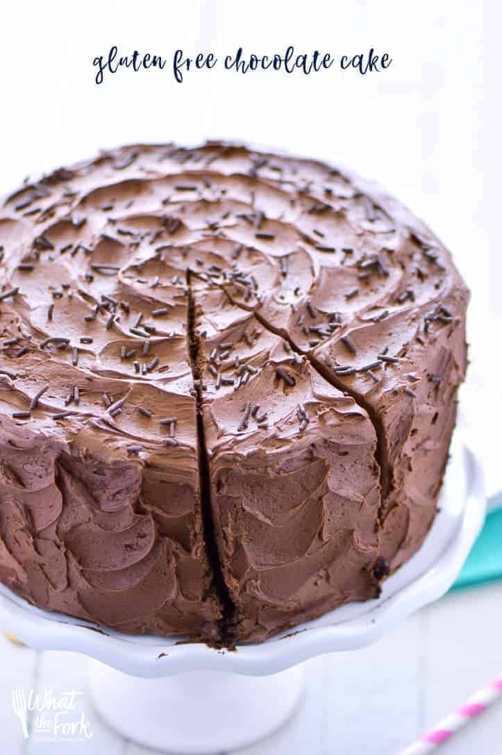 Gluten Free Cake Recipes  The Best Gluten Free Chocolate Cake Recipe What the Fork
