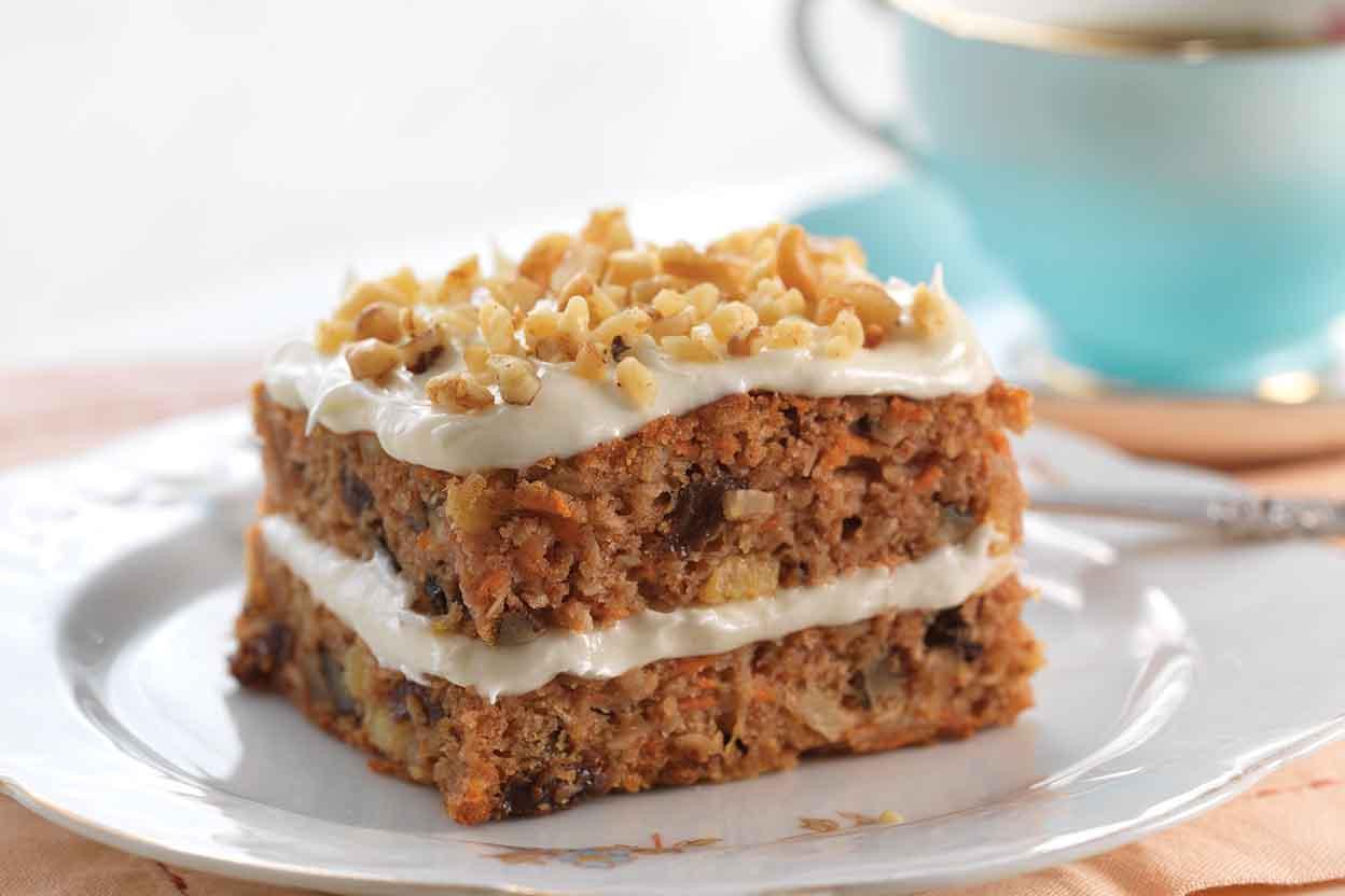 Gluten Free Cake Recipes  Gluten Free Carrot Cake made with baking mix Recipe