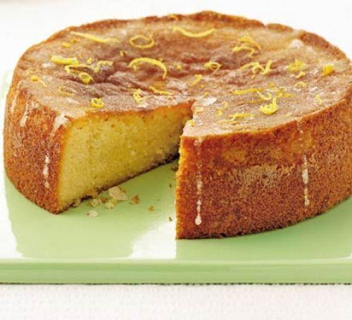 Gluten Free Cake Recipes  Gluten free lemon drizzle cake recipe
