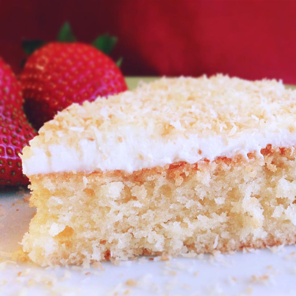 Gluten Free Cake Recipes  Gluten free coconut cake recipe All recipes UK