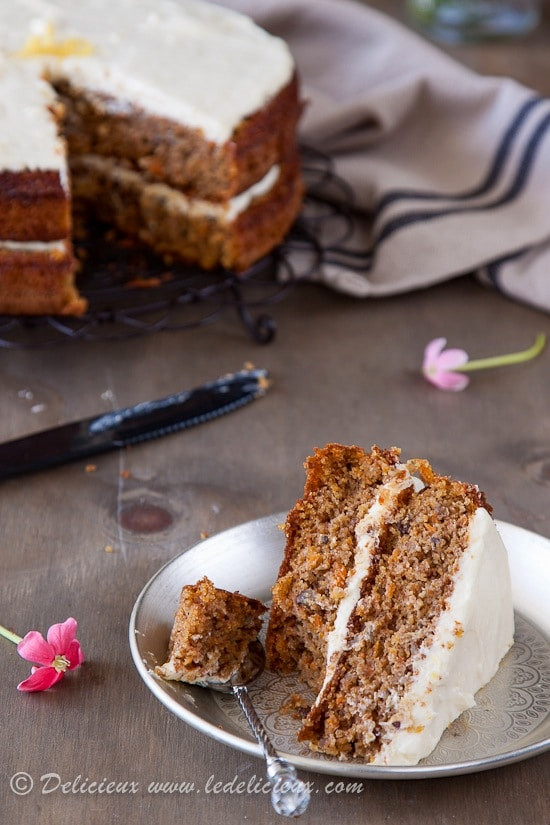 Gluten Free Carrot Cake  Gluten Free Carrot Cake Recipe the best OIL FREE carrot cake
