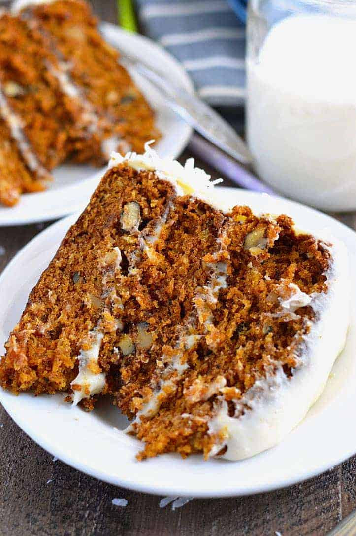 Gluten Free Carrot Cake  Gluten Free Carrot Cake What the Fork