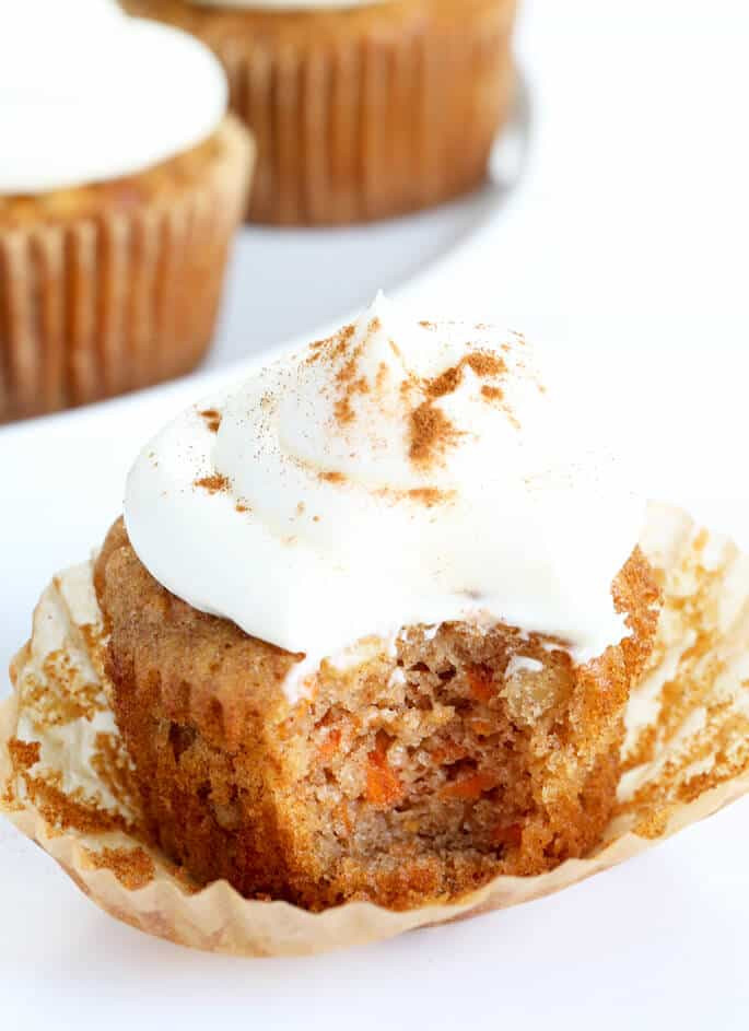 Gluten Free Carrot Cake  Gluten Free Carrot Cake Cupcakes with Cream Cheese Frosting