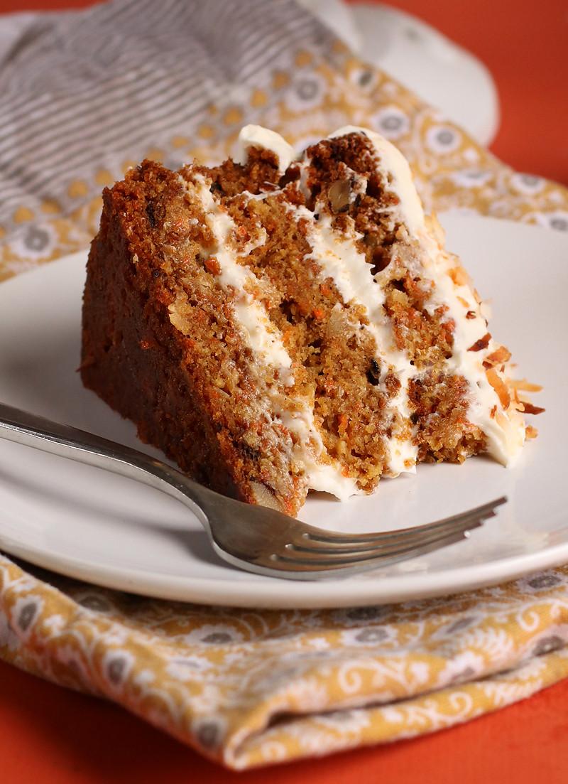 Gluten Free Carrot Cake  Vegan Gluten Free Carrot Cake