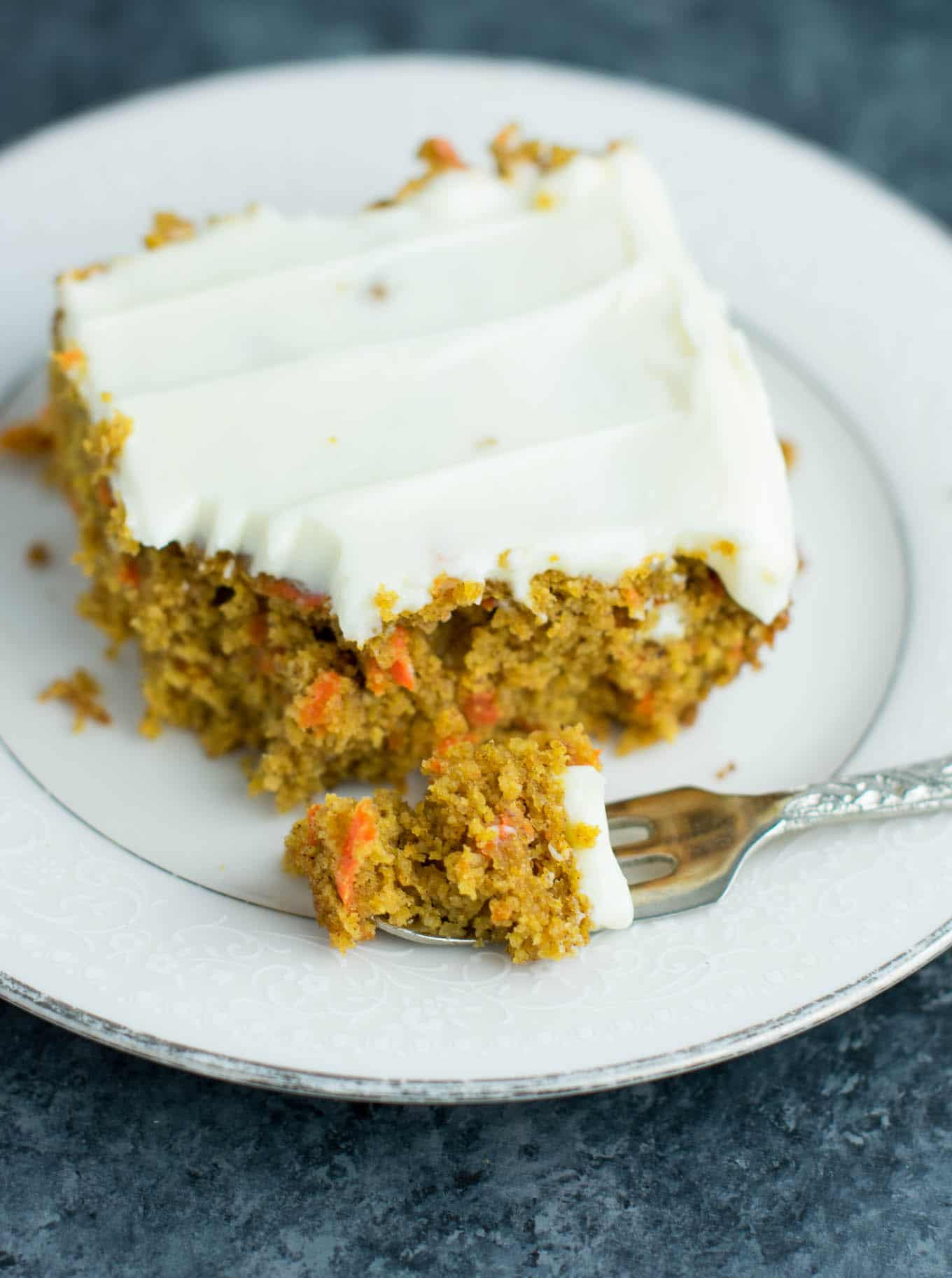 Gluten Free Carrot Cake  Gluten Free Carrot Cake Recipe with cream cheese frosting