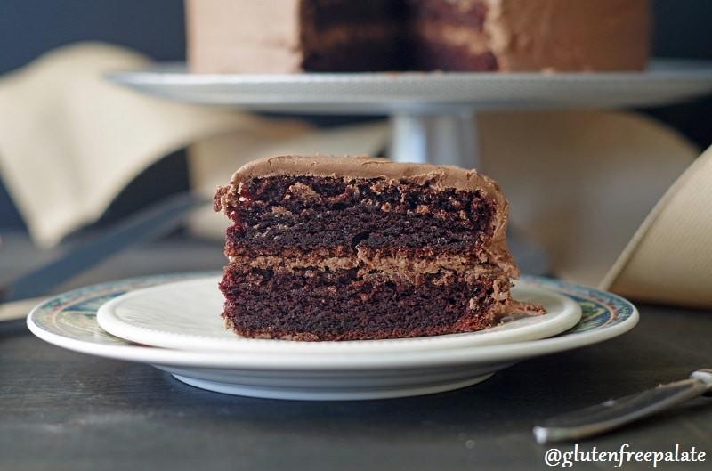 Gluten Free Chocolate Cake  Easy Gluten Free Chocolate Cake