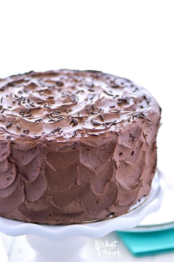 Gluten Free Chocolate Cake  The Best Gluten Free Chocolate Cake Recipe What the Fork