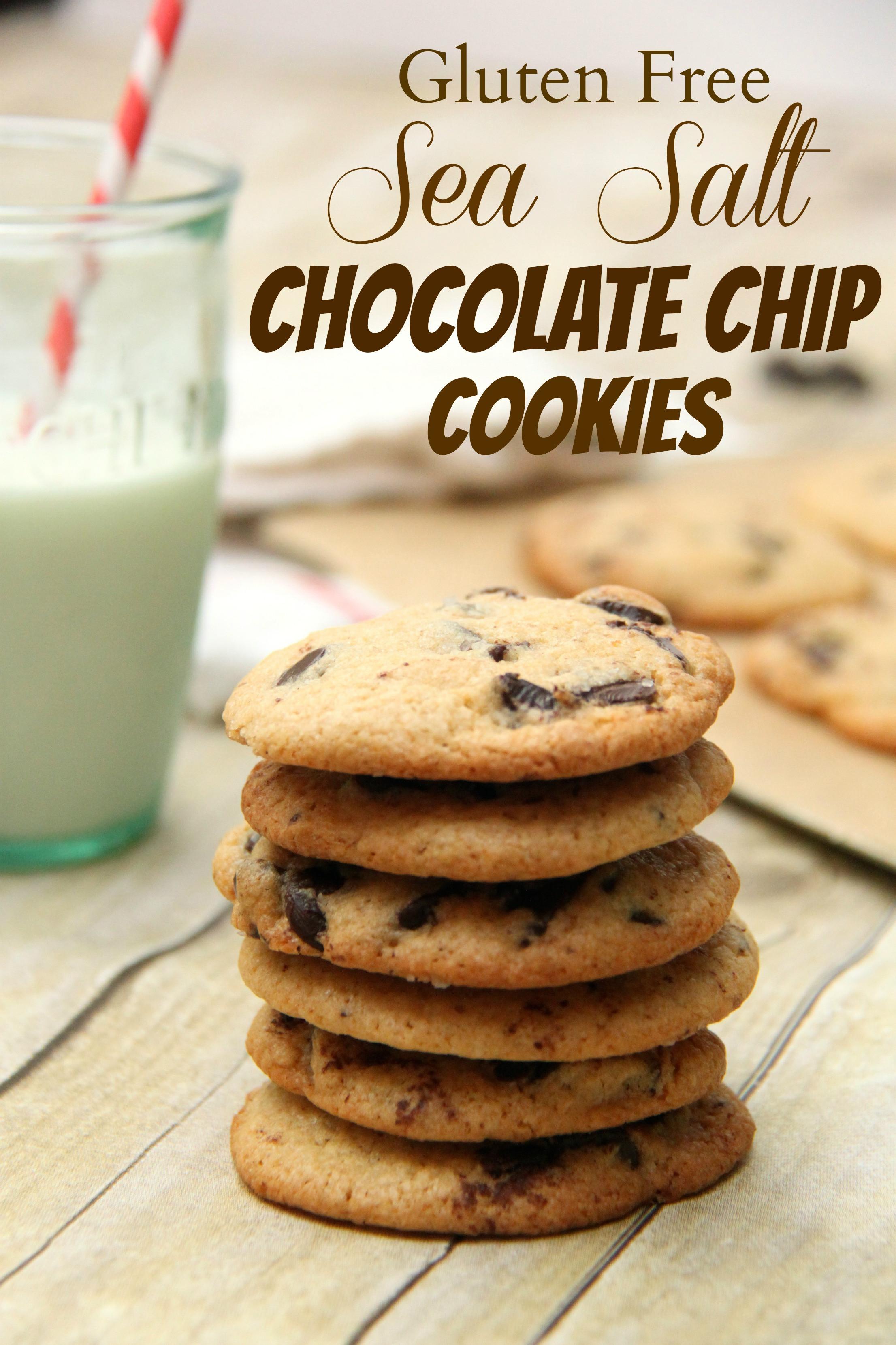 Gluten Free Chocolate Chip Cookies  Gluten Free Sea Salt Chocolate Chip Cookies Smashed Peas